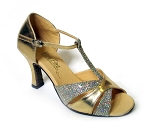6016 Gold Leather & Gold Sparklenet