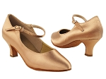 S9137 Tan Satin 2_inch Vegan