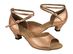 S9220 Copper Nude Leather & Cuban Heel