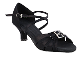 S92307 Black Satin 2_inch Vegan