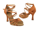SERA1662b Dark Tan Satin