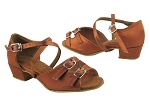 1619 236 Dark Tan Satin_1670C BackStrap_Kids