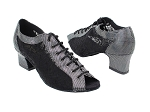1643 87 Black Lacer Satin_46 Mesh