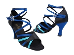 1662B 38 Black Satin_230 Light Blue Satin_T_247 Gem Blue Satin_S_T_H
