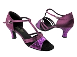1683 11 Purple Sparkle & 111 Purple Satin