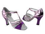 1683 11 Purple Sparkle (H) & 150 Purple Leather
