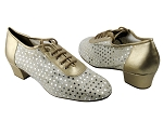 2002 57 Light Gold Leather & 70 Silver Dot