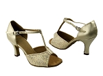 5004 173 Light Gold Scale & 163 Soft Gold Leather