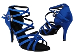 5008LEDSS 84 Gem Blue Satin_428_3inch Stiletto Heel