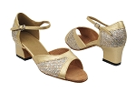 6024 74 Gold Sparklenet_57 Light Gold PU Trim
