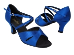 6829 247 Gem Blue Satin_X-Strap Arch