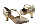 9627 125 Gold Stardust_Gold Leather Trim