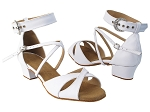SERA7002 281 White Nanofiber Faux Leather