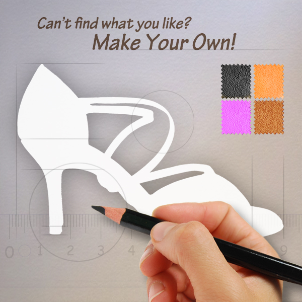 Make your own custom shoes