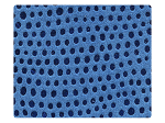 180 Illusion Blue Velvet -Stiletto