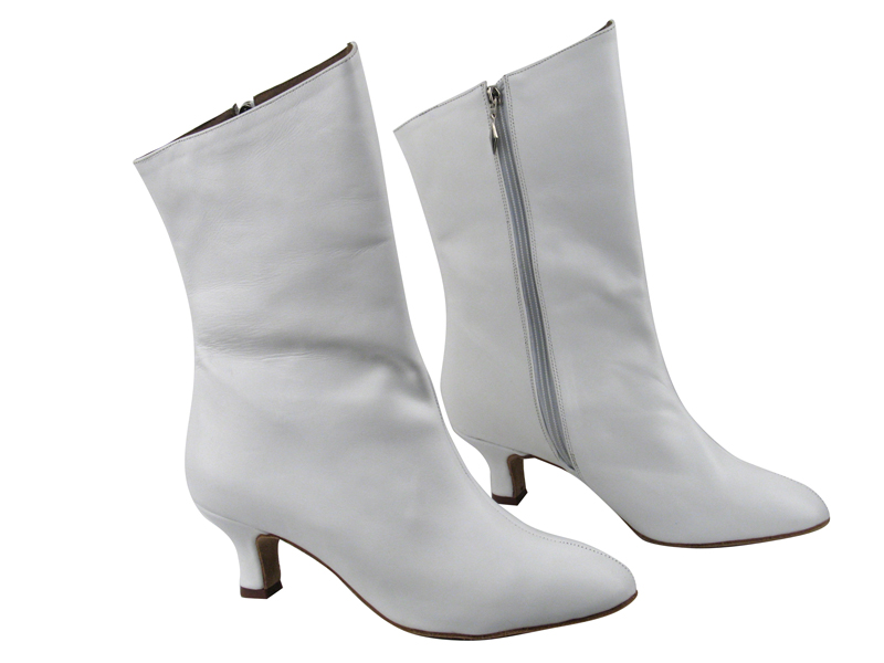 White Ankle Boots - Cr Boot
