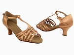 S92304 Tan Satin 2_inch Vegan
