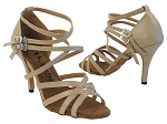 5008LEDSS 60 Tan Leather_3.5 inch Stilleto Heel