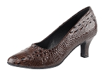 SERA5513 Coffee Brown Croc