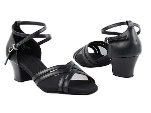 C5017 Black_Cuban Heel