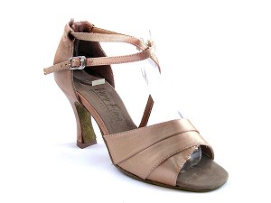 1659 Brown Satin
