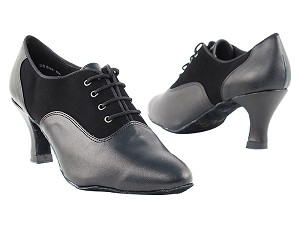1688 Black Nubuck & Black Leather
