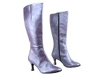 PP205Boot BC14 Light Purple Light Leather_Black Zipper