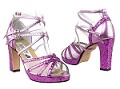 5008MPlatform Purple Sparkle_Purple Leather_White Mesh