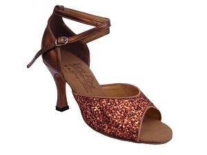 S9220 Dark Tan Sparkle & Dark Tan Gold