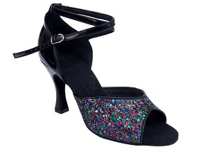 S9220 Illusion Sparkle & Black Leather