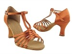 S92319 Dark Tan Satin