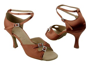 SERA1153 Dark Tan Satin