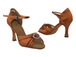 SERA1154 Dark Tan Satin