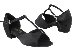 1609 Black Satin_Stone_1_5in