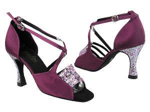 1651 187 Purple Illusion Sparkle_H_111 Purple Satin