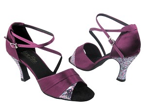 1659 111 Purple Satin & 187 Purple Illusion Sparkle