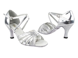 1668 Silver Leather_126 Silver Stardust
