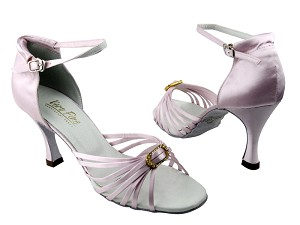1671B #233 Light Pink Satin & Stone