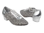 2002 151 Soft Silver PU_153 Grey Mesh