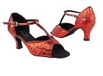 5004G Red Sparkle_W_Red Patent_S