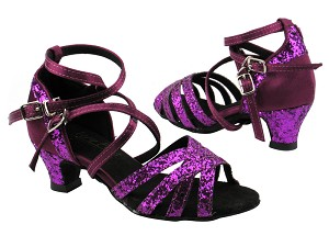 5008GMirage 11 Purple Sparkle_111 Purple Satin_Kids