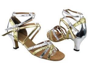 5008Mirage Gold _Silver Sparkle_Leather