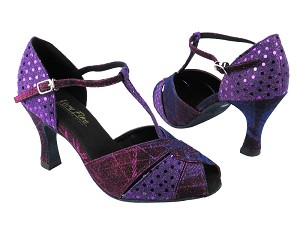 6006 155 Purple Illusion_X_H_237 Dark Purple Dots_B_T