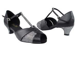 6006 Black Leather_X_97 Black Sparklenet_H