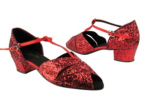 6006 Red Sparkle_Red Satin_T_S