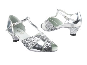 6006 Silver Leather_7 Silver Sparkle_X_H