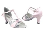 6016 233 Light Pink Satin_7 Silver Sparkle