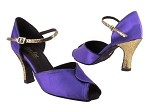 6028 245 Voilet Satin_Black Patent Trim_242 Laser Gold S_H