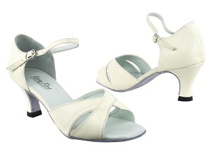 6029 Creamy White Leather