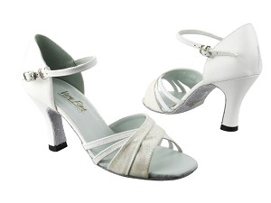 6030 183 White Stardust_White Leather